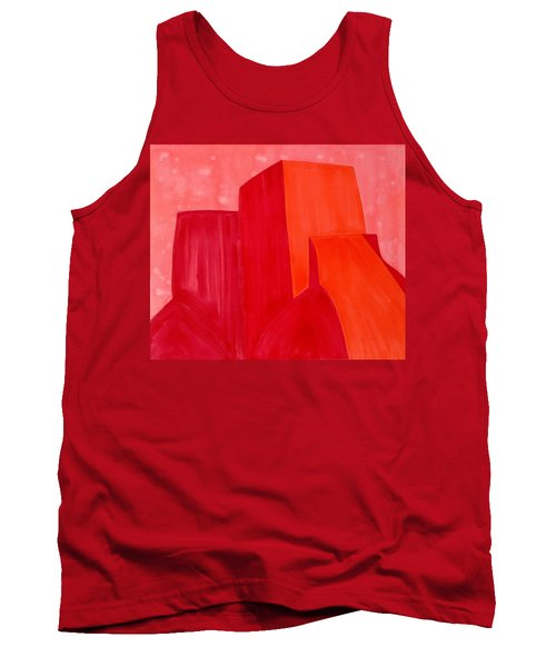 Saint Francis Church Original Painting Tank Top