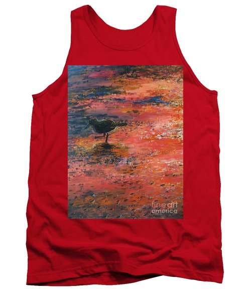 Sandpiper Cape May Tank Top by Eric  Schiabor
