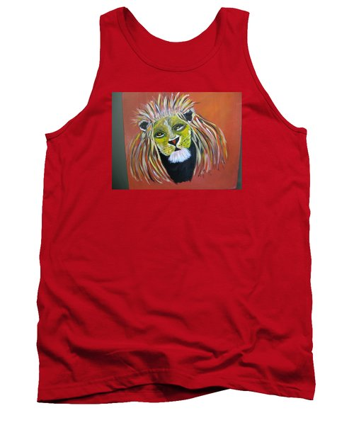 Tank Top featuring the painting Savannah Lord by Sharyn Winters