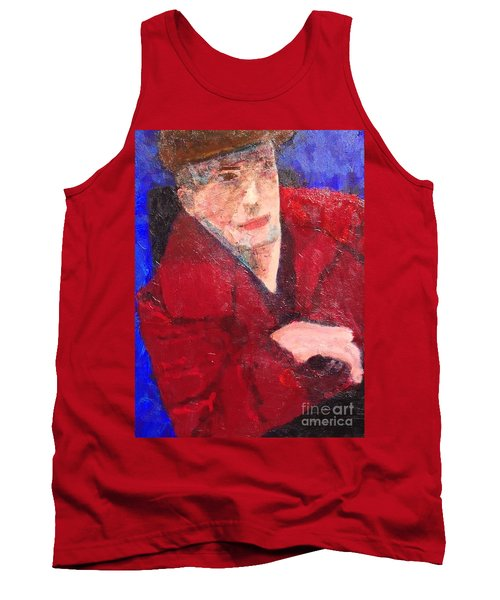 Self-portrait Tank Top by Donald J Ryker III