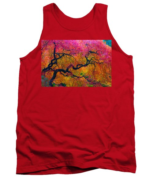 Shades Of Autumn Tank Top