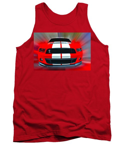 Shelby Gt 500  2013 Tank Top