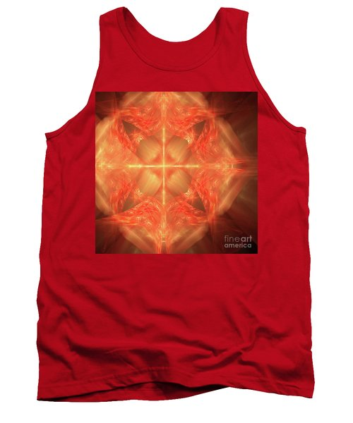 Shield Of Faith Tank Top by Margie Chapman