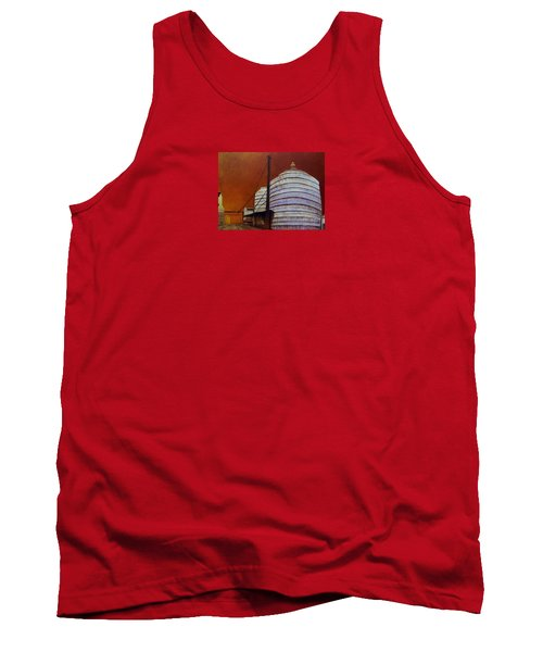 Silos With Sienna Sky Tank Top by Susan Williams