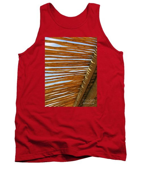 Tank Top featuring the photograph Sky-lined  by Joy Hardee