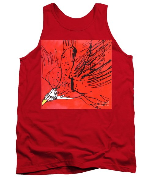 Tank Top featuring the painting Soar by Nicole Gaitan