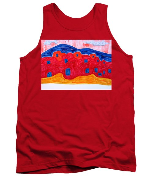 Soft Pueblo Original Painting Tank Top