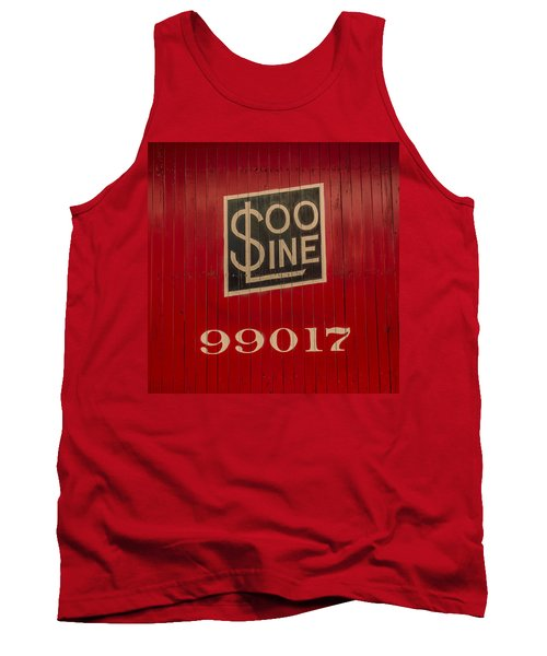 Soo Line Box Car Tank Top