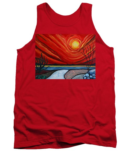 Southwest Desert Sun Tank Top