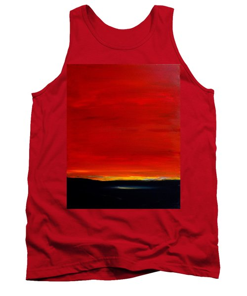 Southwest Desert Sunrise Tank Top
