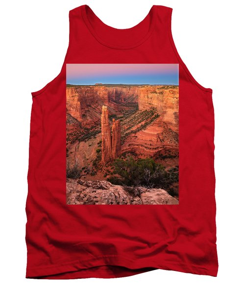 Spider Rock Sunset Tank Top by Alan Vance Ley