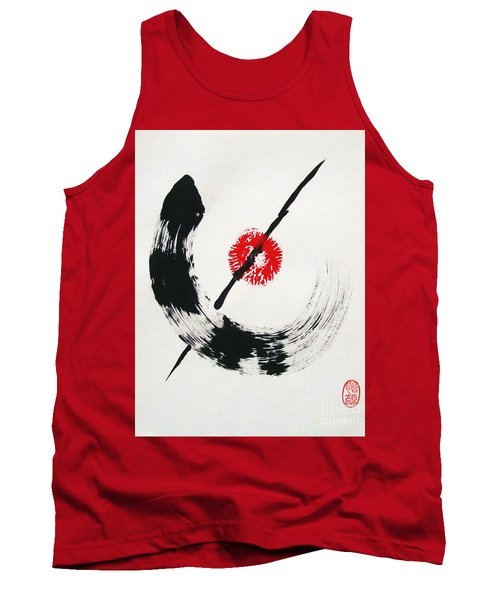 Spirit Of Zen Tank Top by Roberto Prusso