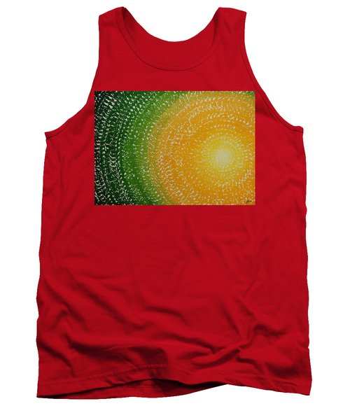 Spring Sun Original Painting Tank Top