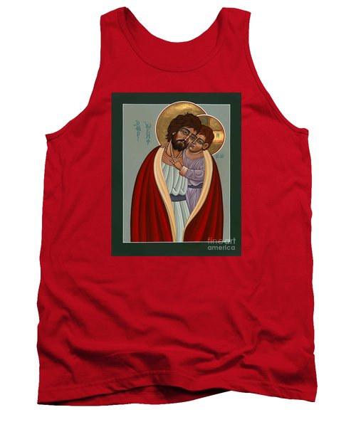 St. Joseph And The Holy Child 239 Tank Top by William Hart McNichols