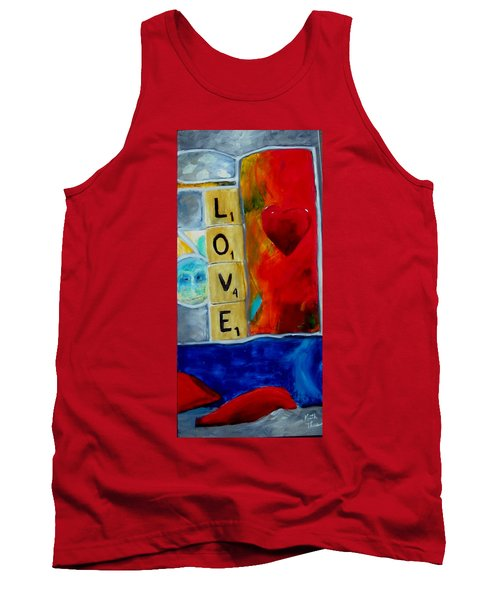 Stained Glass Love Tank Top