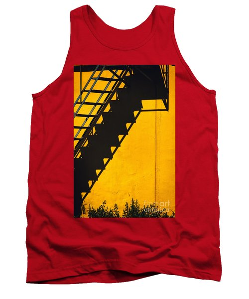 Tank Top featuring the photograph Staircase Shadow by Silvia Ganora