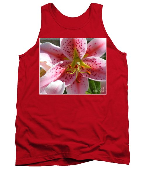 Stargazer Lily Tank Top by Barbara Griffin