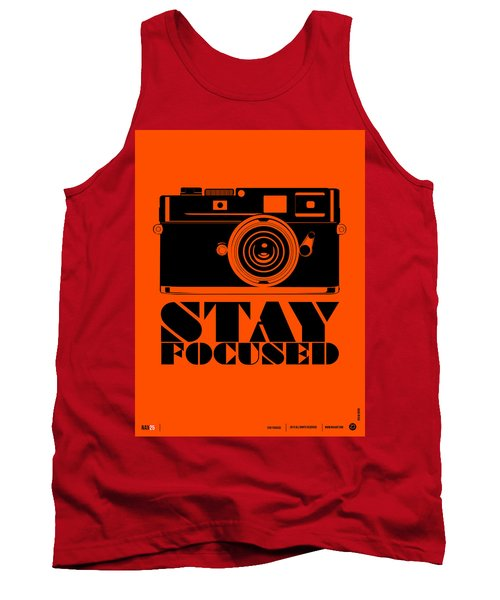 Stay Focused Poster Tank Top
