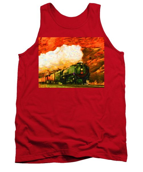 Steam And Sandstone Tank Top