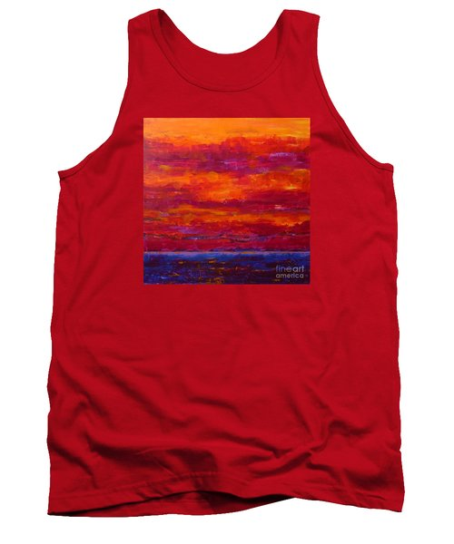 Storm Clouds Sunset Tank Top by Gail Kent