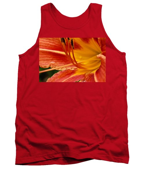 Summer Daylily Tank Top