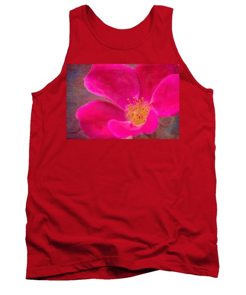 Summer Delight My Pink Rose Tank Top
