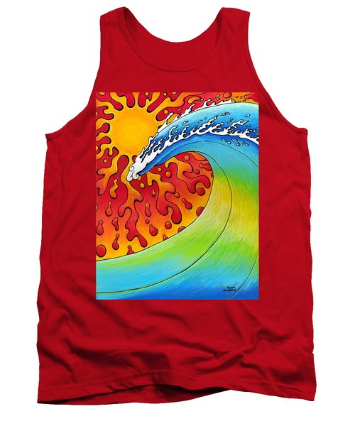 Sun And Surf Tank Top