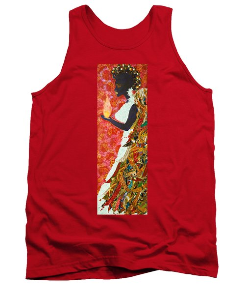 Sun Guardian - The Keeper Of The Universe Tank Top