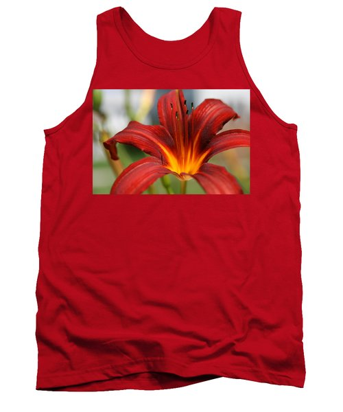 Sunburst Lily Tank Top by Neal Eslinger