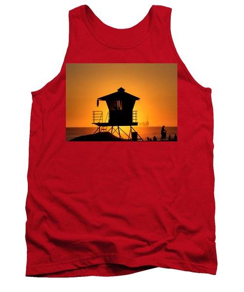 Tank Top featuring the photograph Sunburst by Tammy Espino
