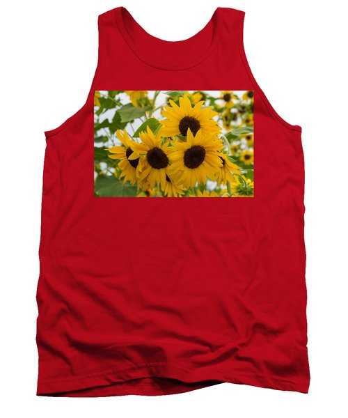 Sunflower Bouquet Tank Top