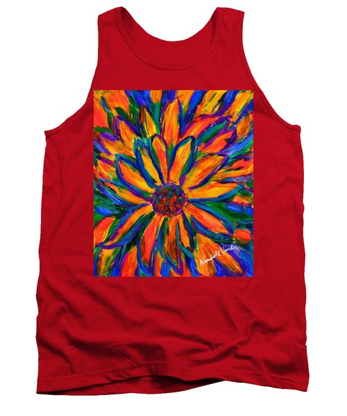 Sunflower Burst Tank Top