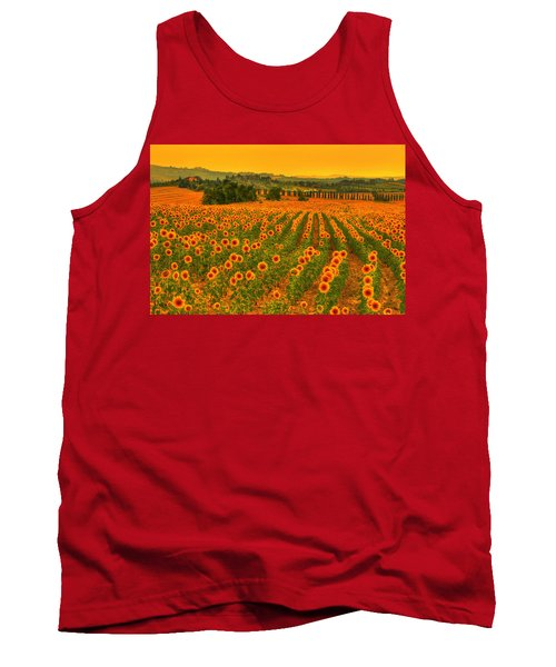 Sunflower Dream Tank Top