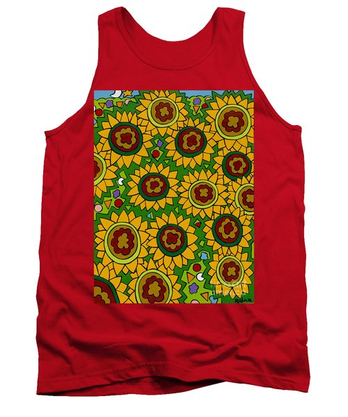 Sunflowers 2 Tank Top