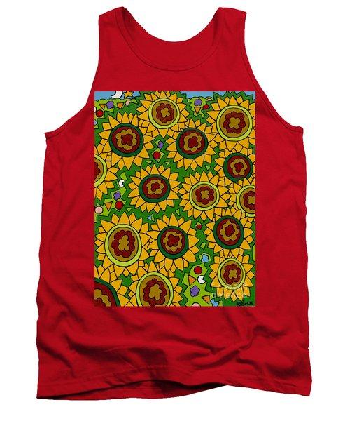 Sunflowers 2 Tank Top