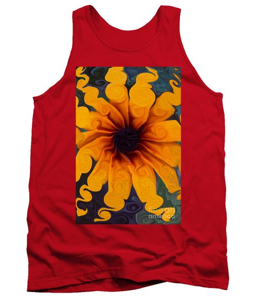 Sunflowers On Psychadelics Tank Top