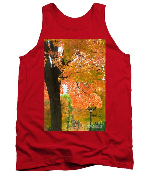 Sunny Fall Day By David Lawrence Tank Top