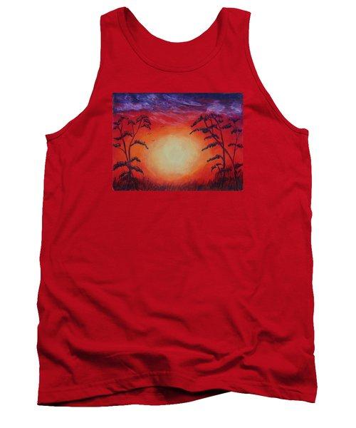 Sunset 1 Tank Top by Jeanne Fischer