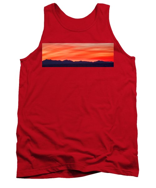 Tank Top featuring the photograph Sunset Algodones Dunes by Hugh Smith