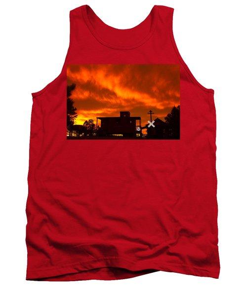 Sunset Caboose Tank Top