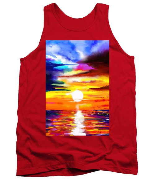 Sunset Explosion Tank Top