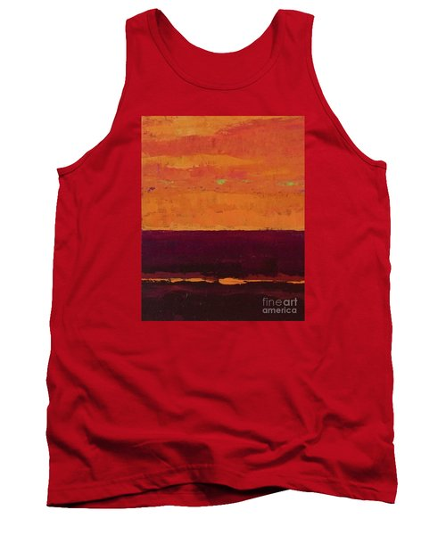 Sunset On The Pier Tank Top by Gail Kent