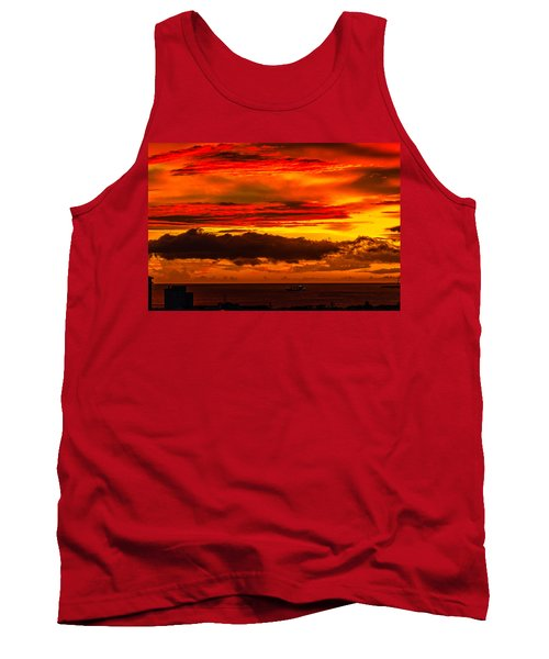 Sunset Wow2 Tank Top