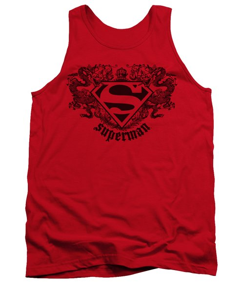 Superman - Superman Dragon Tank Top