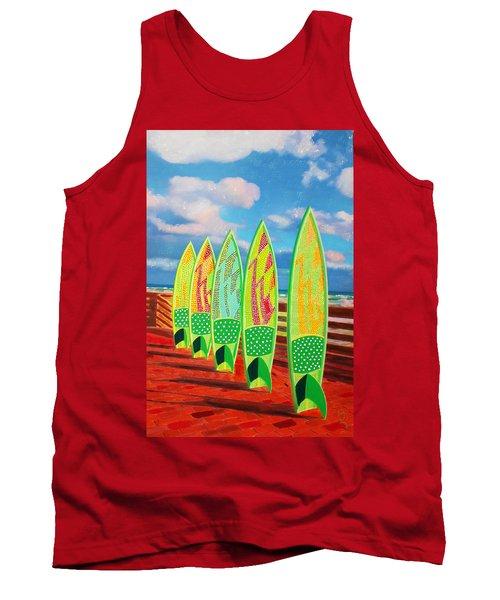 Surfs Up Tank Top