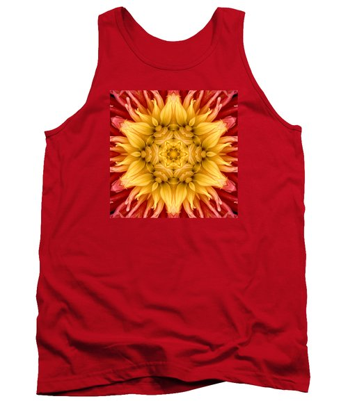 Surreal Flower No.4 Tank Top