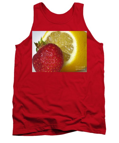 Tank Top featuring the photograph Sweet And Sour by Nina Silver