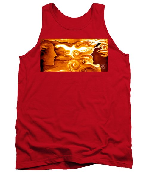 Synergy In Love Tank Top by Gem S Visionary