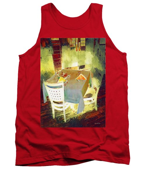 Table At The Fauve Cafe Tank Top