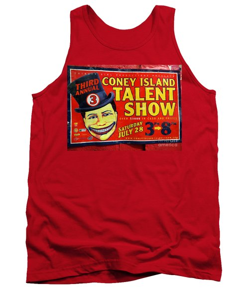 Talent Show Tank Top by Ed Weidman